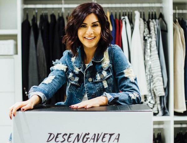 """Fernanda Paes leme diz que se tornou mais desapegada depois que começou a apresentar o programa """"Desengaveta"""" (Foto: Juliana Chalita)"""