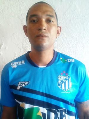 Fábio Santos atacante URT Patos de Minas (Foto: URT/Divulgação)