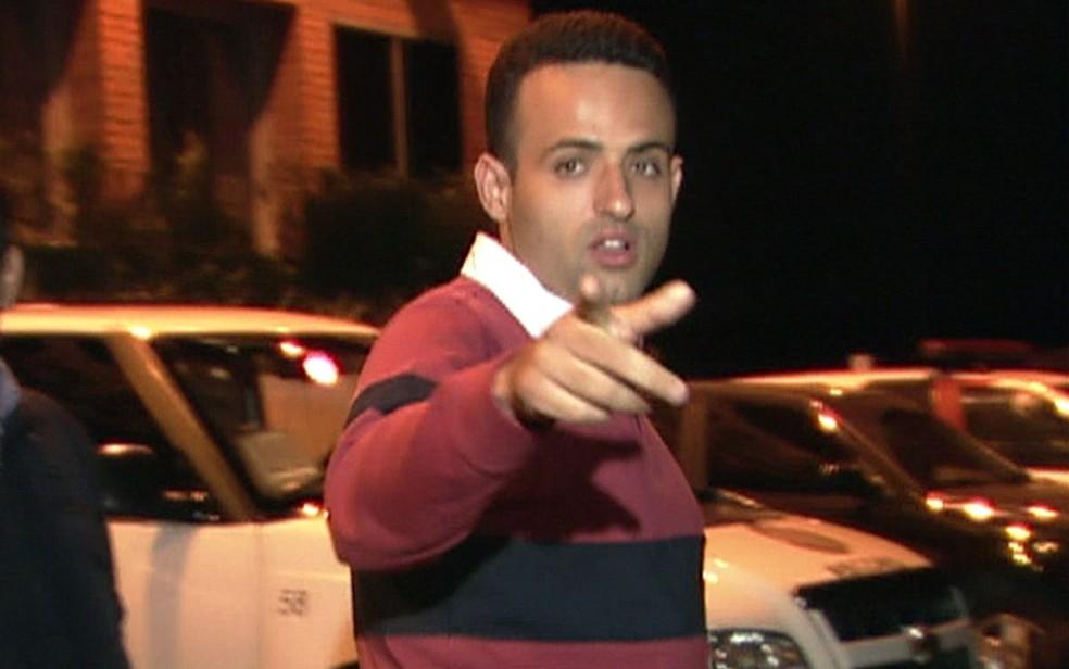 O prefeito eleito de Embu das Artes, Ney Santos, teve prisão decretada pela Justiça do município da Grande SP (Foto: TV Globo/Reprodução)