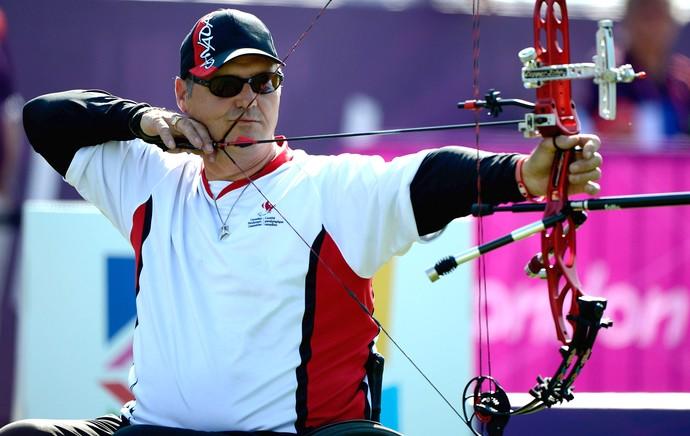 Norbert Murphy, tiro com arco paralímpico 2012 (Foto: Getty Images)