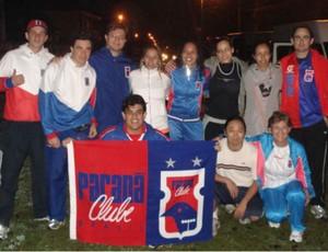 Grupo de corrida de rua do Paraná Clube (Foto: Divulgação / Paraná Clube)