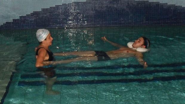 Eu atleta - Hidroterapia (Foto: Divulgação / Hidrovida)