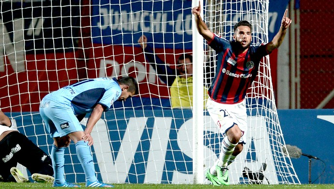 Emmanuel Mas gol San Lorenzo contra Bolívar (Foto: EFE)