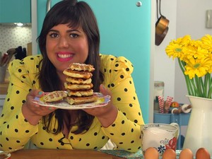 Dulce Delight - 2ª temporada - Raiza Costa - waffle (Foto: Gshow)