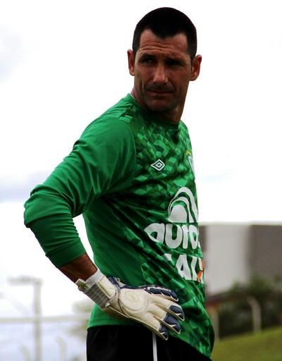 Nivaldo goleiro Chapecoense (Foto: Aguante/Chapecoense)