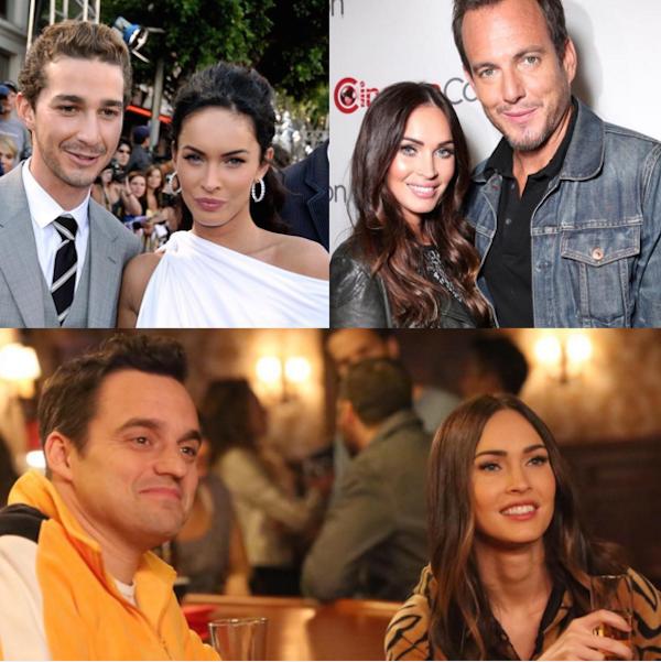 Shia LaBeouf, Will Arnett e Jake Johnson: Megan Fox diz que nenhum deles é o pai do bebê (Foto: Instagram)