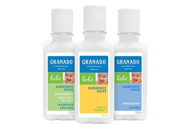 Hidratante Suave Granado: com fragrâncias suaves e rico em vitamina E  (Foto: Divulgação)