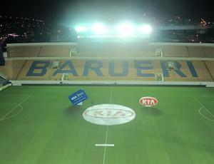 Arena Barueri Palmeiras x Paraná (Foto: Diego Ribeiro / Globoesporte.com)