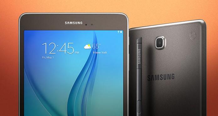 762b82c6e Samsung lança dois membros da família Galaxy Tab (Foto  Divulgação Samsung)