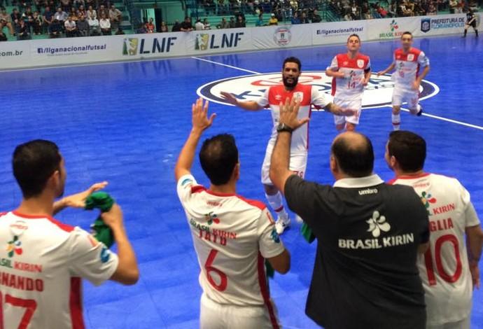Sorocaba Floripa Liga Nacional de Futsal (Foto: Divulgação/Sorocaba)