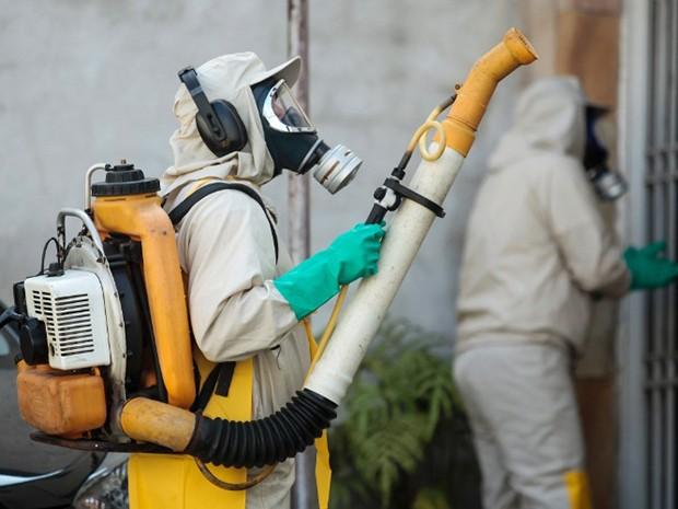 Ações de combate ao mosquito transmissor da zika, dengue e febre chikungunya (Foto: Divulgação / Detran-MA)