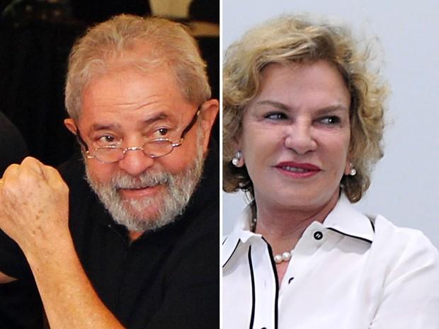 Lula e Marisa Montagem (Foto: Sérgio Castro/Estadão Conteúdo; Fabio Rodrigues Pozzebom/Agência Brasil/Arquivo)