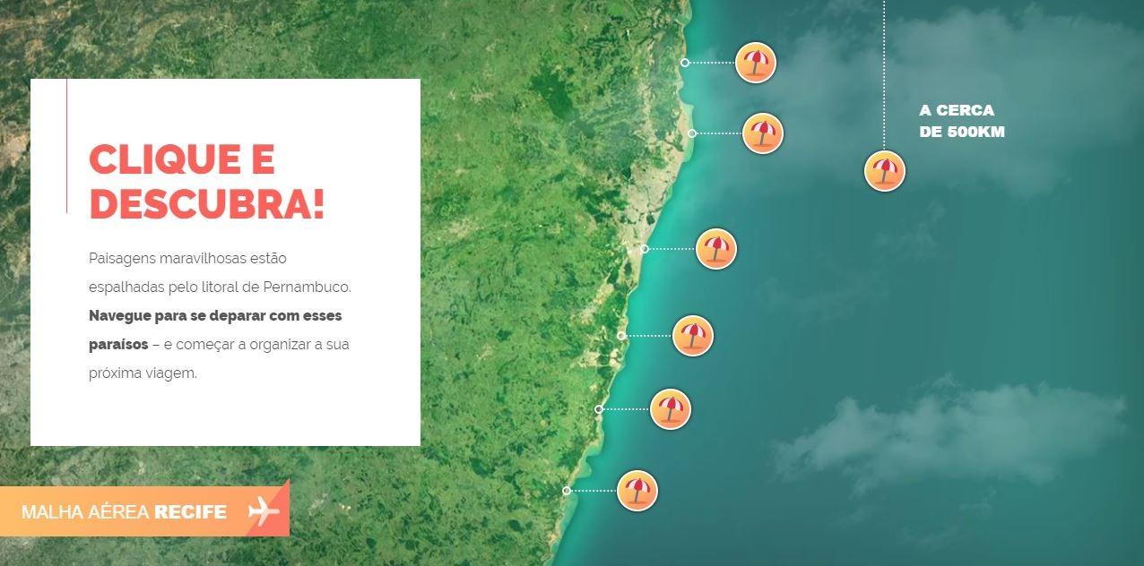 Pernambuco: destino de praia e mar (Foto: Reprodução)