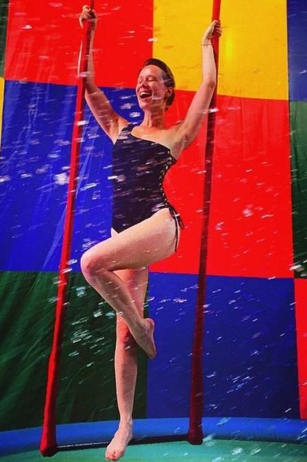 No novo filme de Cacá Diegues a atriz interpreta uma trapezista misteriosa (Foto: Divulgação)