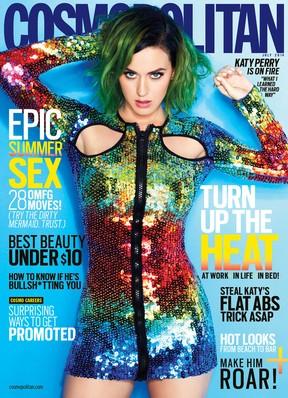 Katy Perry  (Foto: Revista/Reprodução)