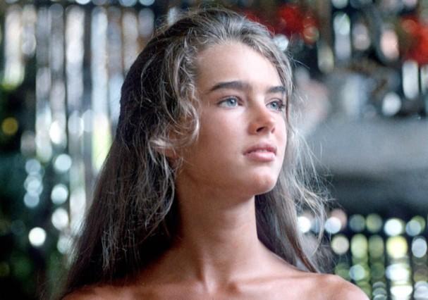 Brooke Shields nos anos 1980 (Foto: Reprodução)