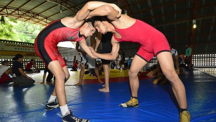 luta olímpica (Foto: Antônio Lima/Sejel)