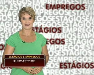 Marilene traz as oportunidades de estágios e empregos dessa semana (Foto: TV Rio Sul)