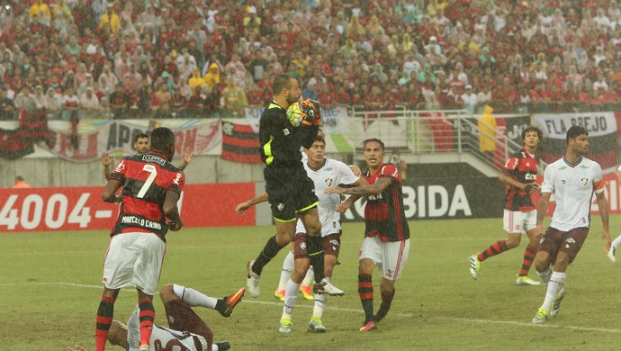 Flamengo x Fluminense (Foto: Alexandre Lago/GloboEsporte.com)