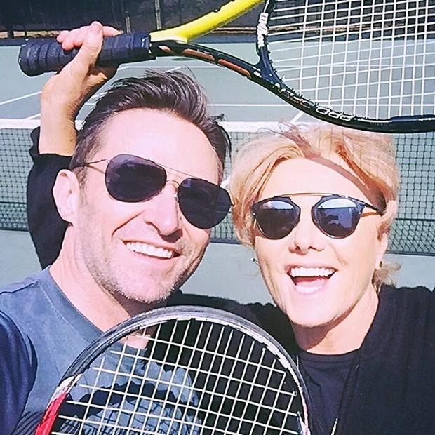 Hugh Jackman e Deborra Lee (Foto: Instagram/Reprodução)