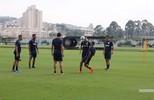 Treinos preparatórios para o jogo com o Luverdense pela Copa do Brasil