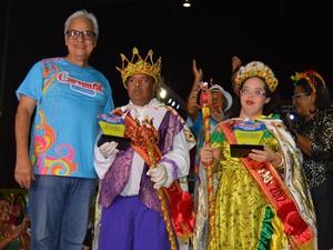 Coroação do Rei e Rainha da Acessibilidade de Teresina (Foto: Divulgação/PMT)