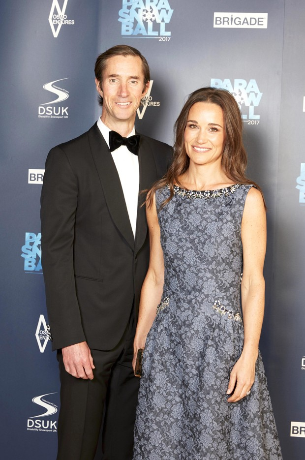 James Matthews e Pippa Middleton (Foto: The Grosby Group)