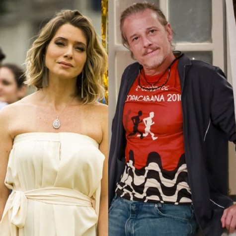 Letícia Spiller e Marcelo Novaes (Foto: TV Globo)