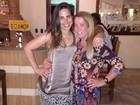 Wanessa comemora aniversário com a mãe, Zilu Camargo