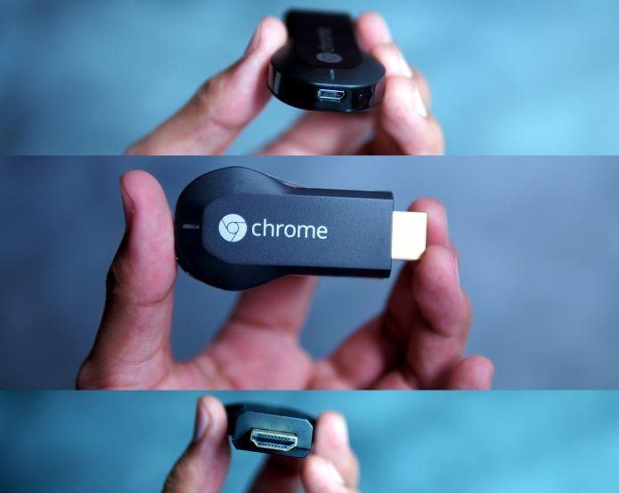 Chromecast do Google sob vários ângulos (Foto: Creative Commons/Flickr/iannnnn)