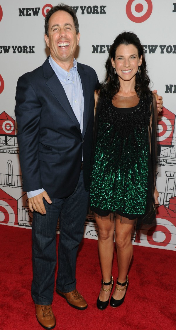 Jerry Seinfeld e sua esposa, Jessica (Foto: Getty Images)