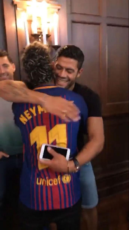Neymar e Hulk