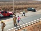 Colisão entre 4 carros mata duas crianças e deixa três feridos na DF-451