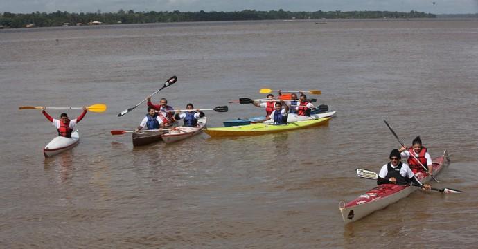 Pará Aquático canoagem  (Foto: Agência Pará)