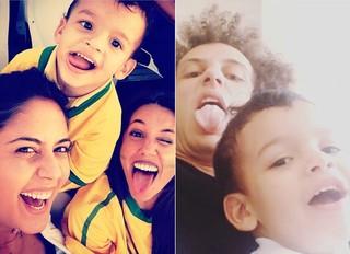 Sara e David Luiz  (Foto: Reprodução/Instagram)