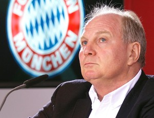 Uli Hoeness, presidente do Bayern de Munique (Foto: AFP)