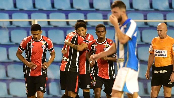 Joinville vence o Avaí em Florianópolis (Foto: Fernando Remor/Mafalda Press/Estadão Conteúdo)