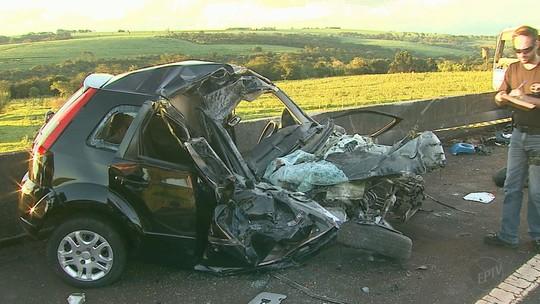Diretor do Sesi de Franca morre após colidir carro contra caminhão na Rodovia Cândido Portinari