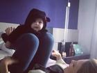 Sheila Mello brinca com a filha: 'É uma bagunça'