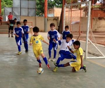 Futsal Sub-9 Roraima (Foto: Nailson Wapichana/GloboEsporte.com)