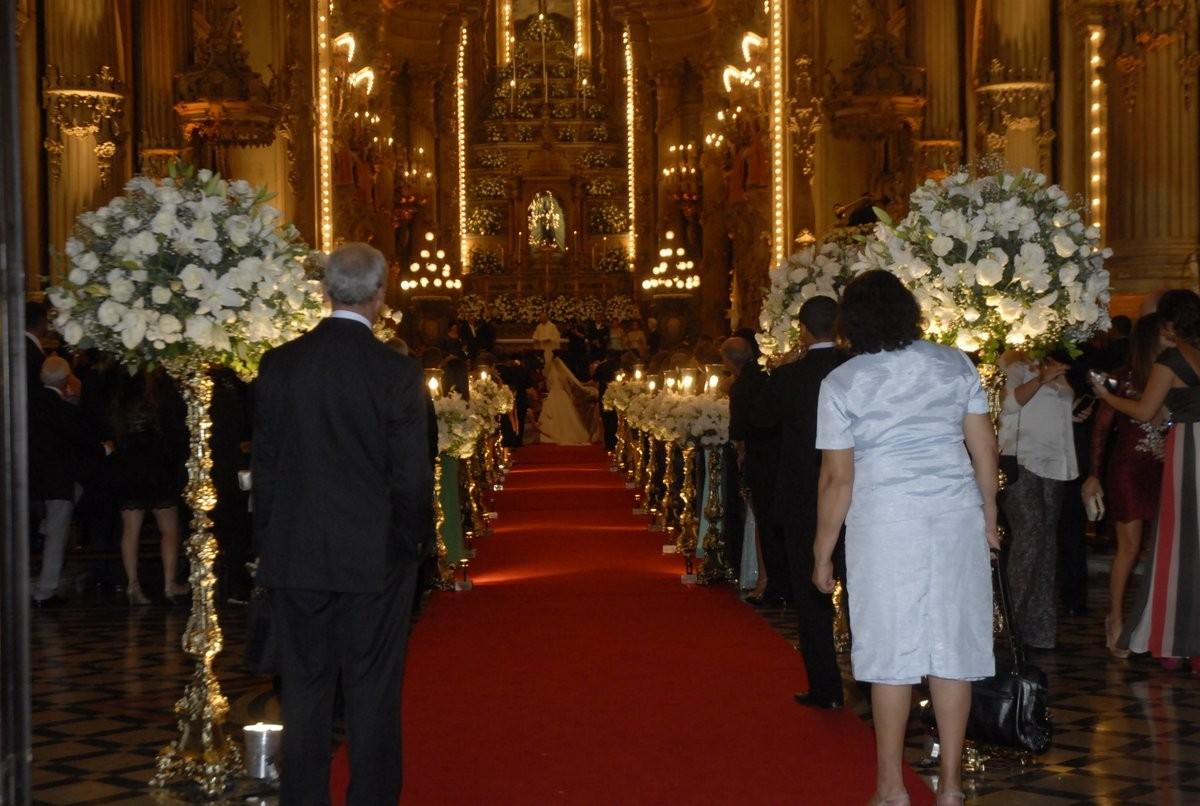 A cerimônia (Foto: Roberto Valverde/Revista QUEM)