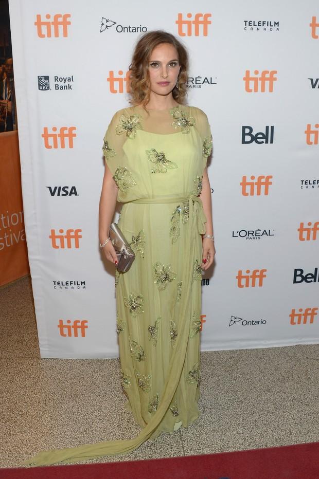 Natalie Portman no festival de cinema de Toronto, no Canadá (Foto: Matt Winkelmeyer/ Getty Images/ AFP)