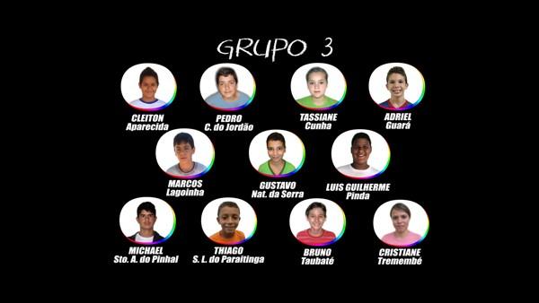 TABUADA_grupo_3_participantes (Foto: TABUADA_grupo_3_participantes)