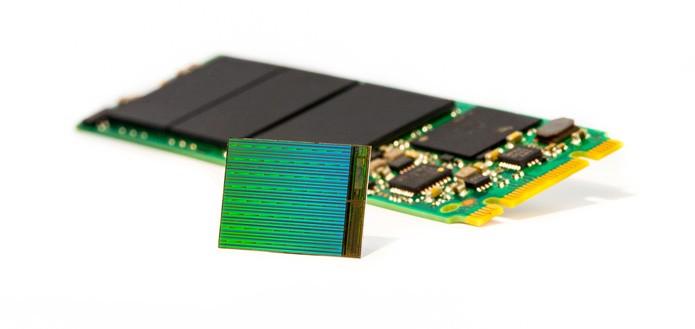Nova tecnologia promete SSDs com armazenamento três vezes maior que o NAND comum (Foto: Reprodução/Intel)