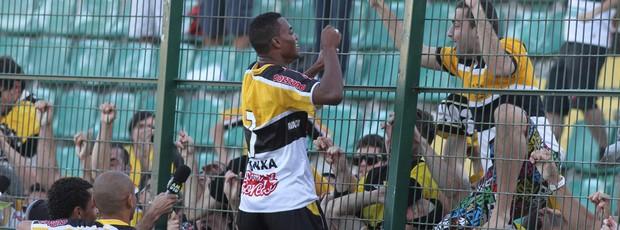 Lins Criciúma Figueirense (Foto: Fernando Ribeiro / Criciúma EC)