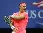 Nadal começa devagar, mas passa por  sérvio na estreia do US Open