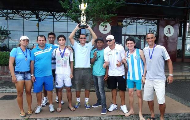 Paysandu conquistou a primeira etapa do Campeonato Paraense de Remo (Foto: Arquivo pessoal)