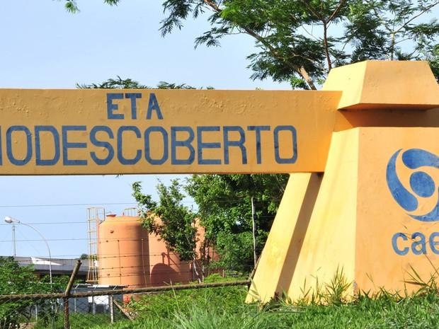 Estação de Tratamento de Água do Rio Descoberto (Foto: Tony Winston/Agência Brasília)