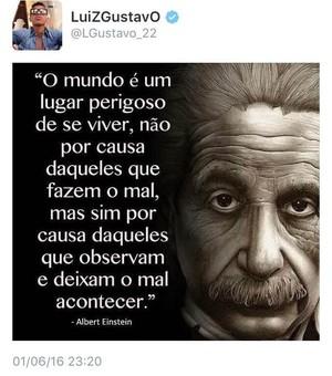 Luiz Gustavo Twitter (Foto: Reprodução/Twitter)