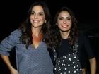 Apesar da chuva, famosos vão a show de Ivete Sangalo no Rio